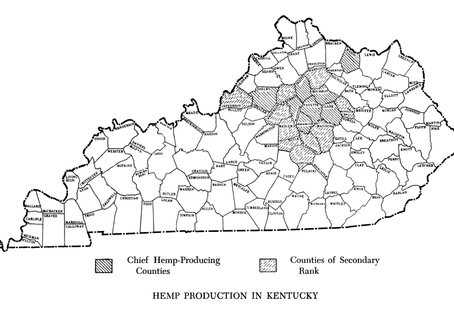1850 | Kentucky hemp production hits peak