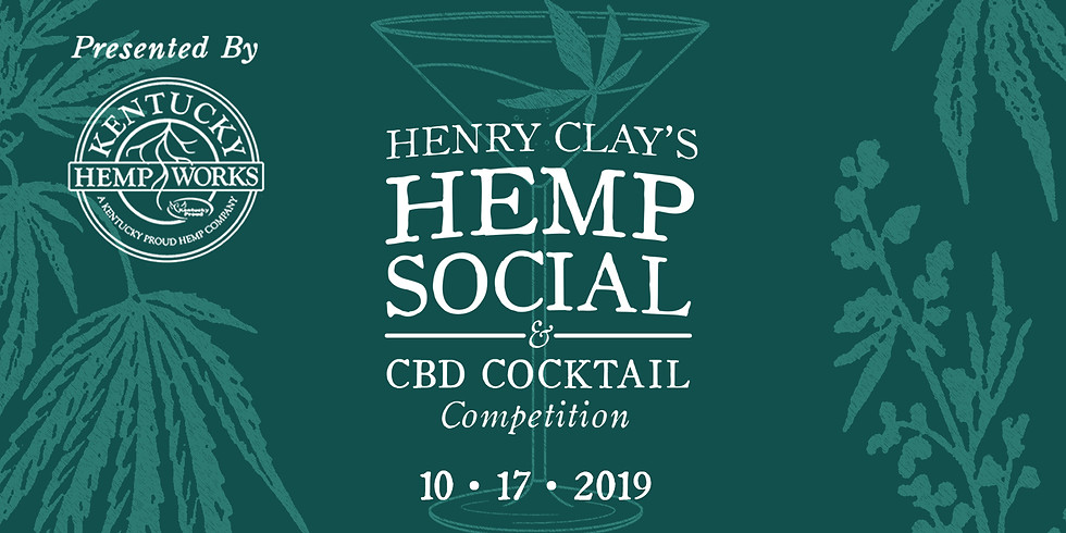 Henry Clay's Hemp Social & CBD Cocktail Competition