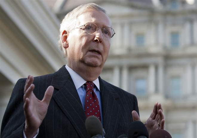 Senator Mitch McConnell secures hemp provision in Omnibus spending bill.