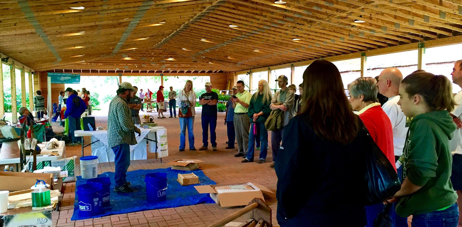 Farmington Historic Plantation in Louisville celebrates the return of hemp with Hemp Discovery Day.