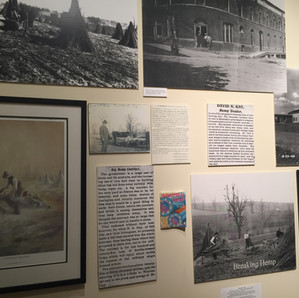 Bluegrass Heritage Museum Hemp Display