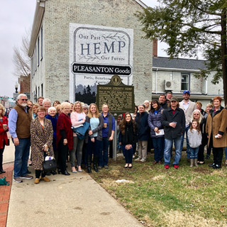 Bourbon County Hemp/Alexander House Kentucky Historical Marker Installation March 9th, 2019