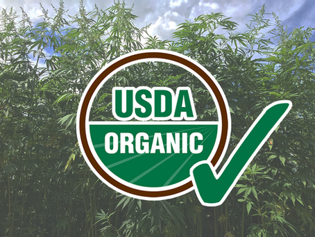 USDA approved organic hemp certification