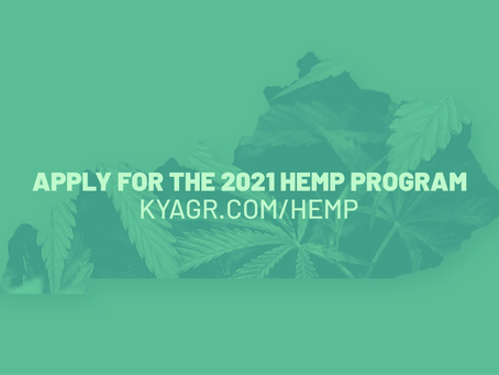 Kentucky Hemp Program Online Licensing Portal Open For Applications