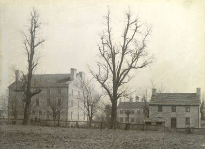 Scene in Shakertown Early 1900s