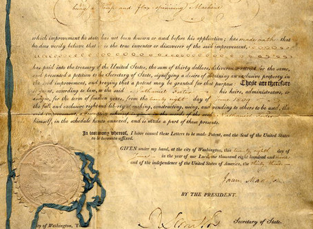 1796 | Kentuckians file for first hemp patents