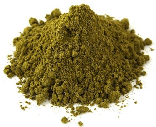 Ground hemp protein powder