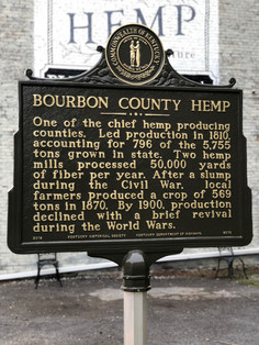 Bourbon County was one of the leading hemp producing counties in Kentucky, and the nation, and aims to be once again!