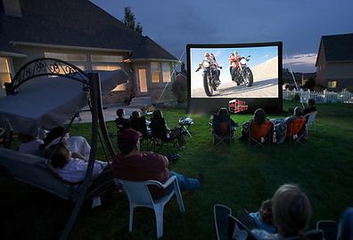 Hott Shotz Outdoor Movie Screen 13'