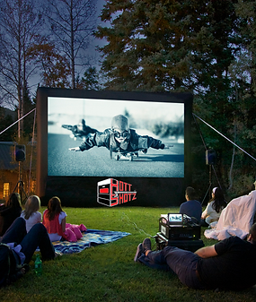 Hott Shotz Outdoor Movie Screen 13'