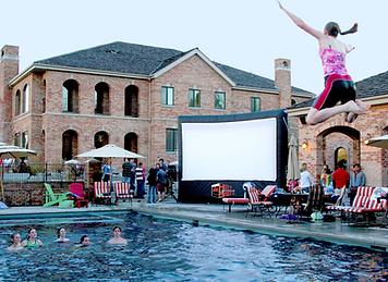 Hott Shotz Outdoor Movie Screen 20'