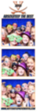 UVA Sports Camp with Hott Shotz Photo Booth