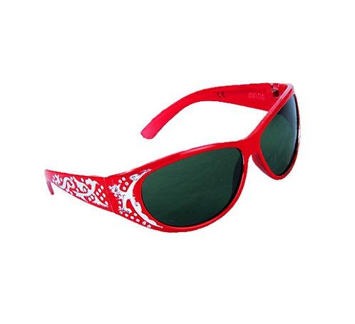 Lunettes de soleil rouges - accessoire pour peluches de 40 cm