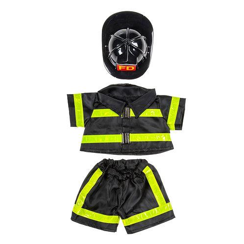 Uniforme de pompier - vêtement pour peluche de 40 cm