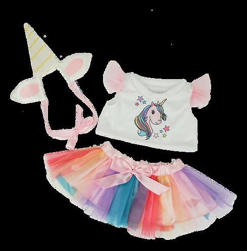 Ensemble licorne - vêtements pour peluche de 40 cm