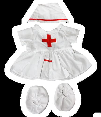 Tenue d'infirmière - vêtement pour peluche de 40 cm