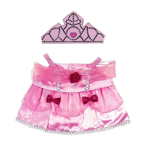 Robe de princesse - vêtement pour peluche de 40 cm