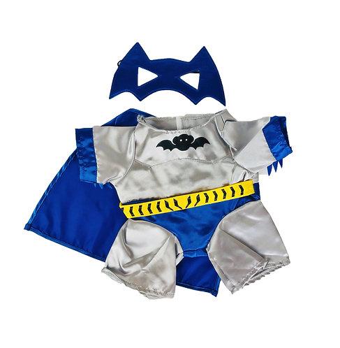 Costume de Batbear - vêtement pour peluche de 40 cm