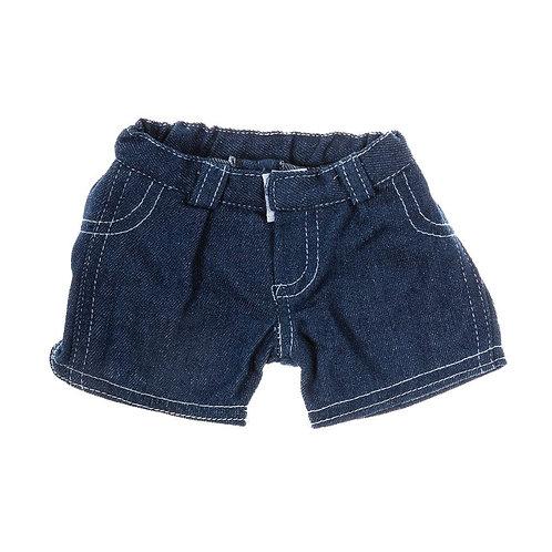 Short en jean - vêtements pour peluche de 40 cm