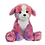 Thumbnail: Peluche avec son - Chiot coloré - 40 cm
