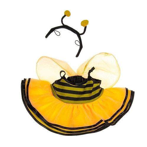 Costume d'abeille - vêtement pour peluche de 40 cm