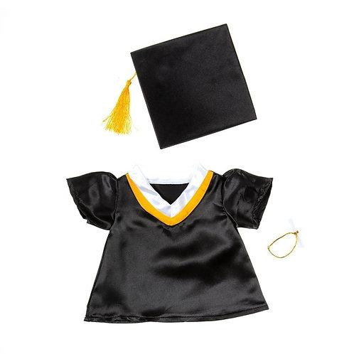 Tenue de diplomé - vêtement pour peluche de 40 cm