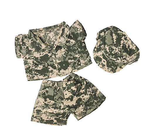 Tenue de militaire - vêtement pour peluche de 40 cm