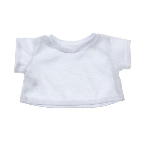 T-shirt blanc - vêtement pour peluche de 40 cm