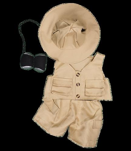 Tenue d'explorateur - vêtement pour peluche de 20 cm