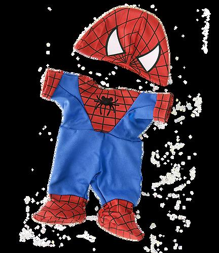 Tenue de Spiderbear - vêtement pour peluche de 40 cm