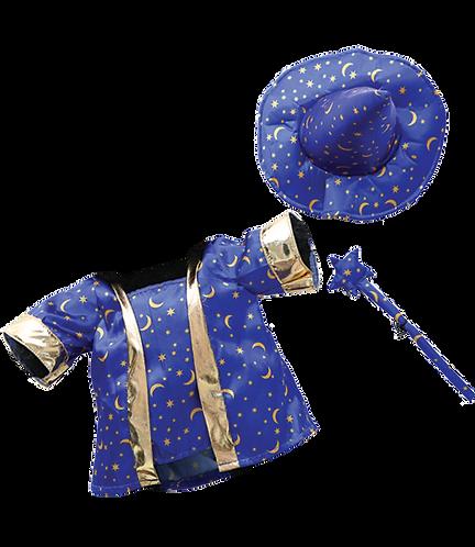 Tenue de magicien - vêtement pour peluche de 40 cm