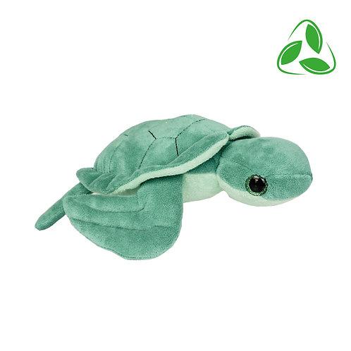 Peluche écologique - Tortue en peluche de 20 cm
