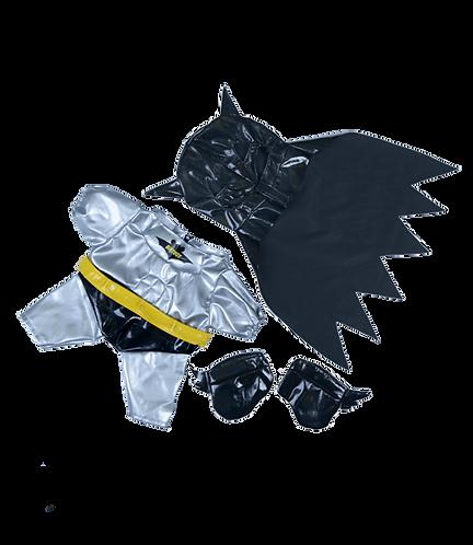 Costume de Batbear - vêtement pour peluche de 20 cm