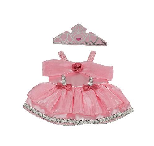 Robe de princesse - vêtement pour peluche de 20 cm