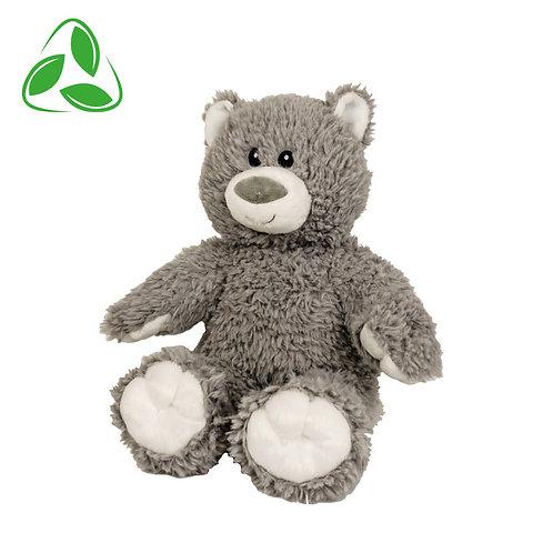 Peluche écologique - Ours gris en peluche de 40 cm