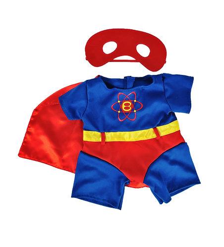 Costume de Superbear - vêtement pour peluche de 40 cm