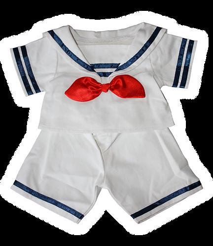 Costume de matelot - vêtements pour peluche de 40 cm