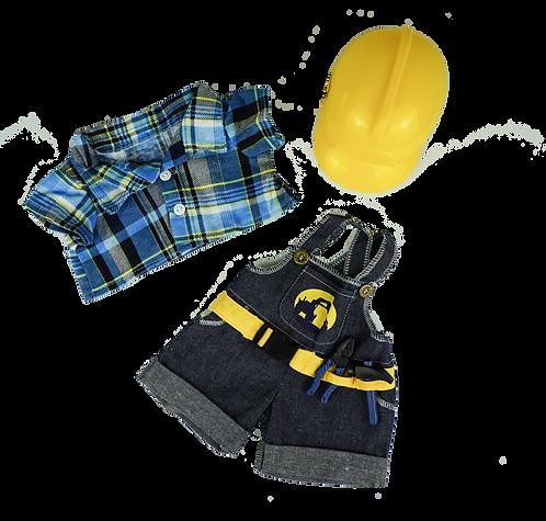 Tenue de constructeur - vêtements pour peluche de 40 cm