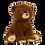 Thumbnail: Peluche avec son - Ours Tendresse - 40 cm