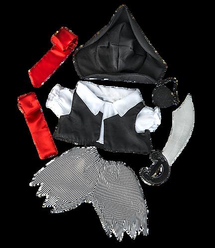 Tenue de pirate - vêtement pour peluche de 40 cm
