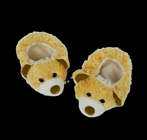 Chaussons nounours - accessoire pour peluche de 40 cm