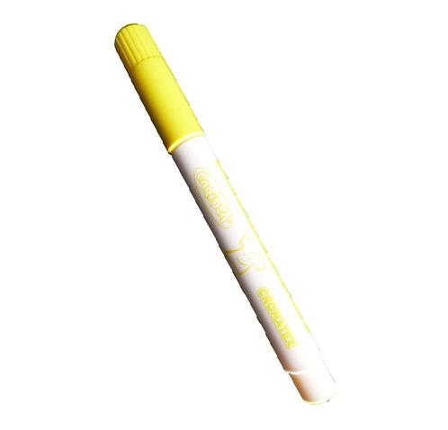 Feutre spécial textile - couleur jaune