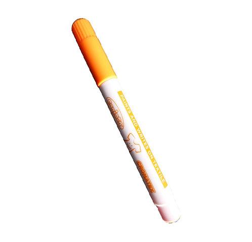 Feutre spécial textile - couleur orange