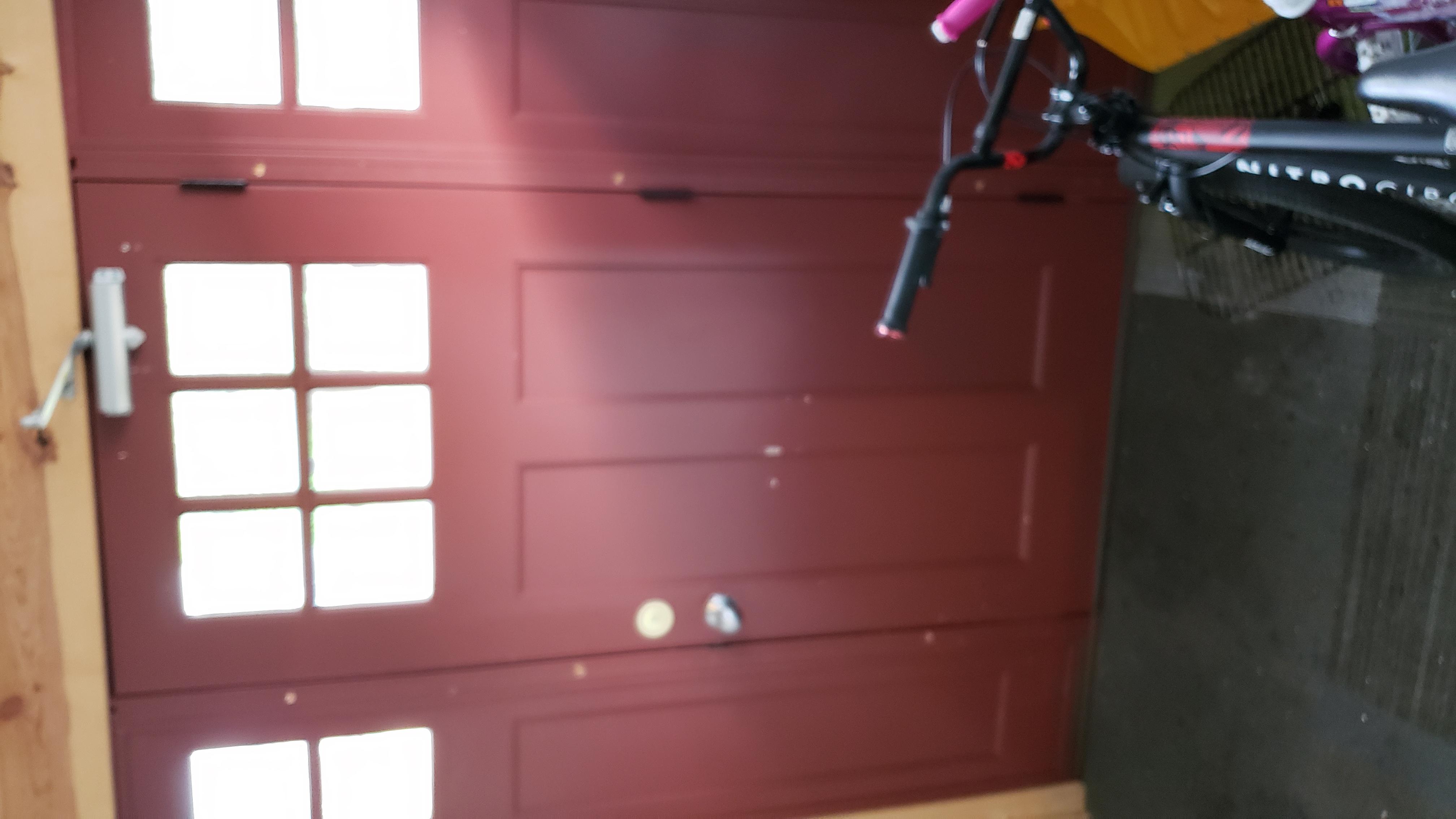 90 - duplex entry