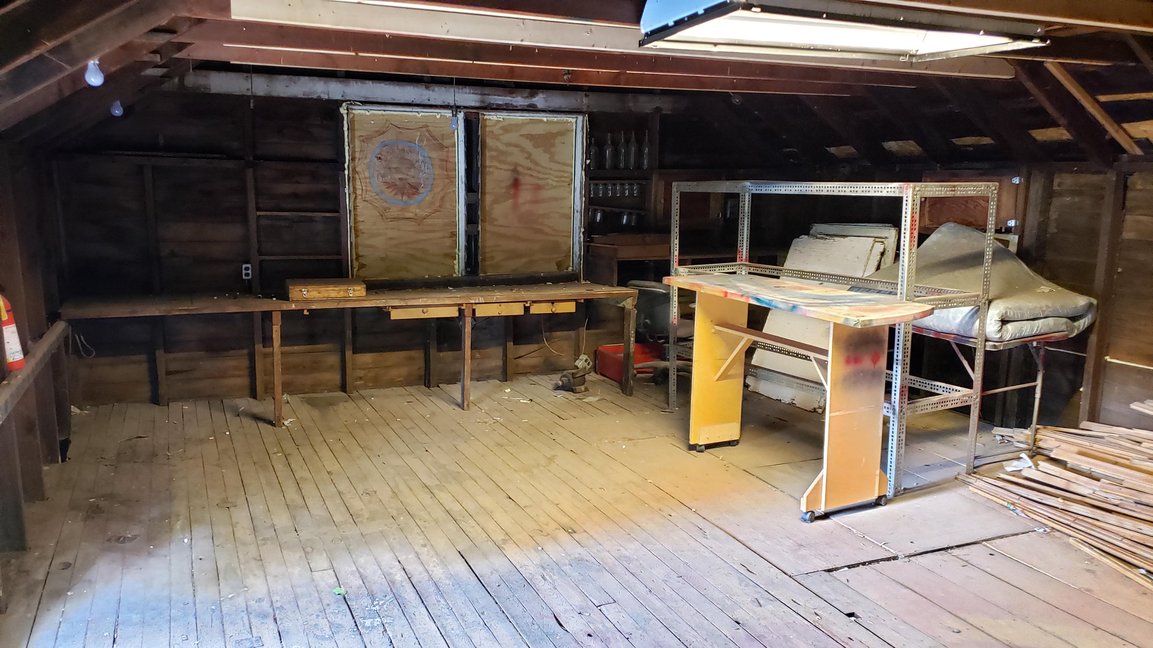 500 - garage loft