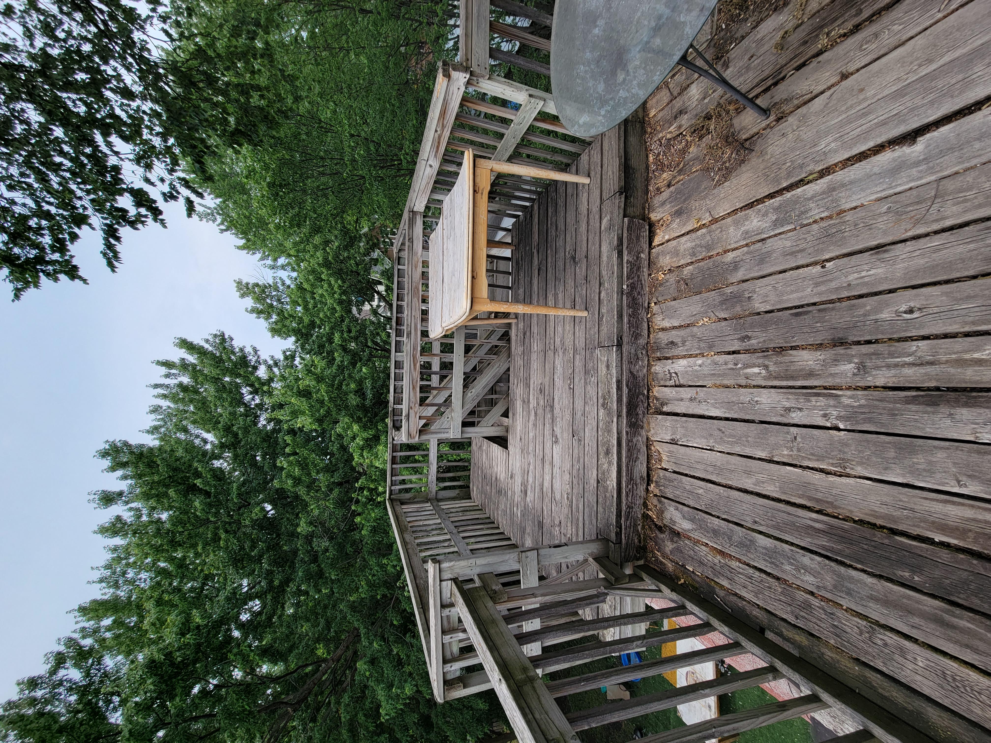 190 - Deck from 3rd Floor
