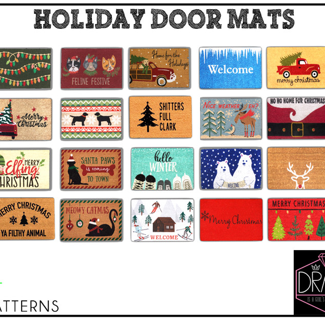 DRAMA-Door Mats-Christmas Gacha Beauty.j