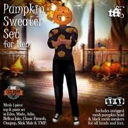 TFF Pumpkin Sweater Set Ad for Men 1024.png