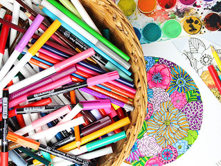 Coloring: Not Just for Kindergartners