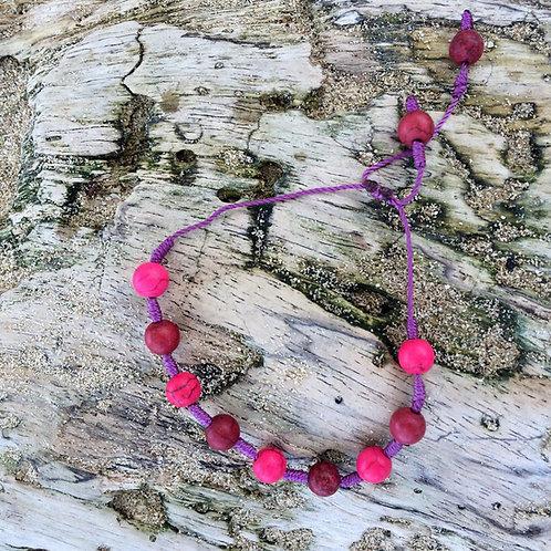 String & Bead Bracelet